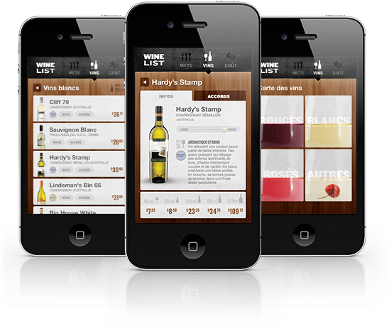 WineList - The Portable Sommelier